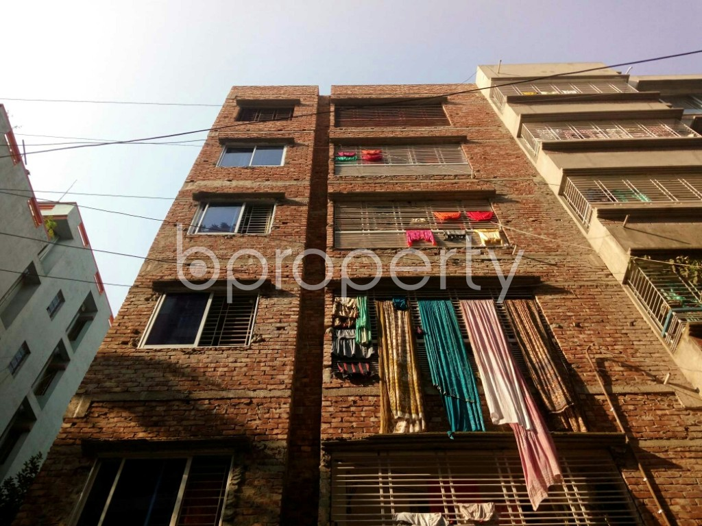 Front view - 2 Bed Apartment for Sale in Mirpur, Dhaka - 1932402