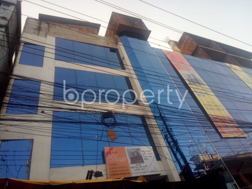 Outside view - Shop for Sale in Halishahar, Chattogram - 1932568