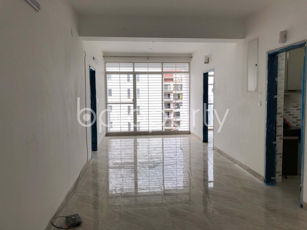 Dining area - 3 Bed Apartment to Rent in Bashundhara R-A, Dhaka - 1920141