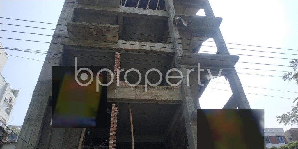 Front view - 3 Bed Apartment for Sale in Bashundhara R-A, Dhaka - 1932854