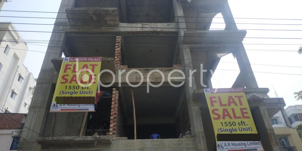 Front view - 3 Bed Apartment for Sale in Bashundhara R-A, Dhaka - 1932855