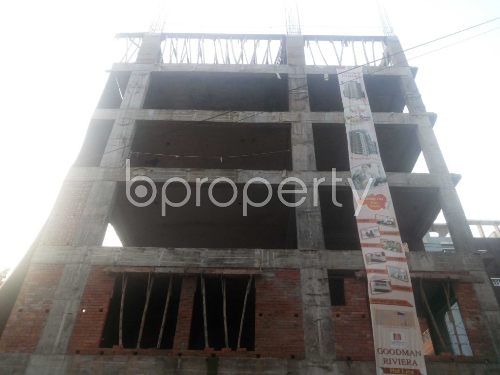 Front view - 3 Bed Apartment for Sale in Aftab Nagar, Dhaka - 1932880