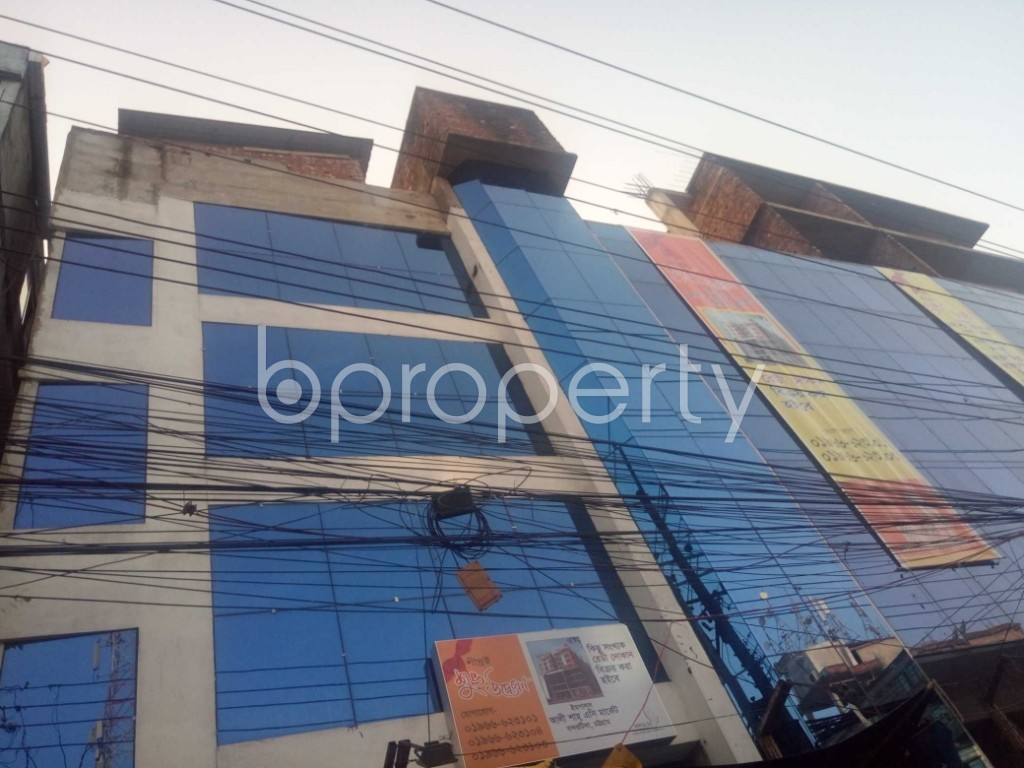 Outside view - Shop for Sale in Halishahar, Chattogram - 1932994
