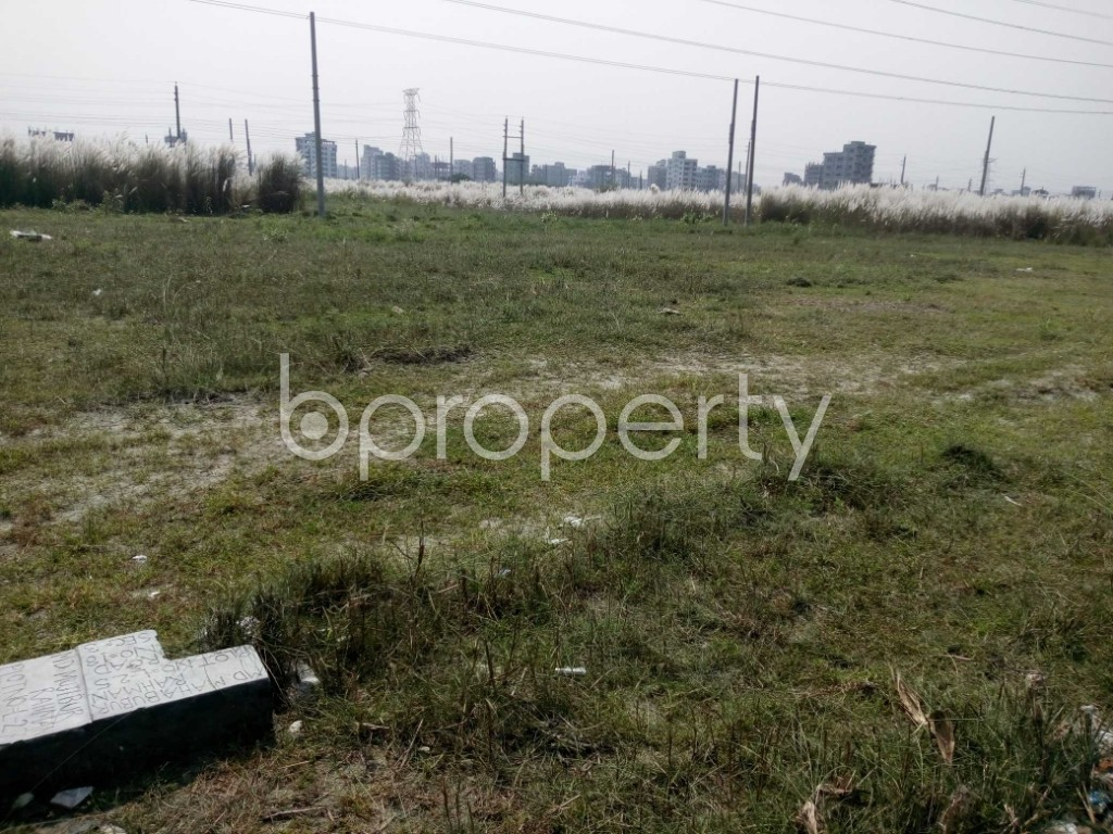 Front view - Plot for Sale in Aftab Nagar, Dhaka - 1933185