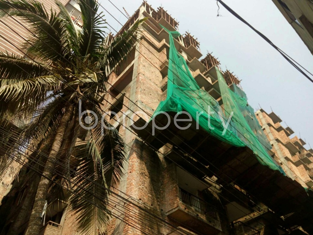 Outside view - 3 Bed Apartment for Sale in Badda, Dhaka - 1933230