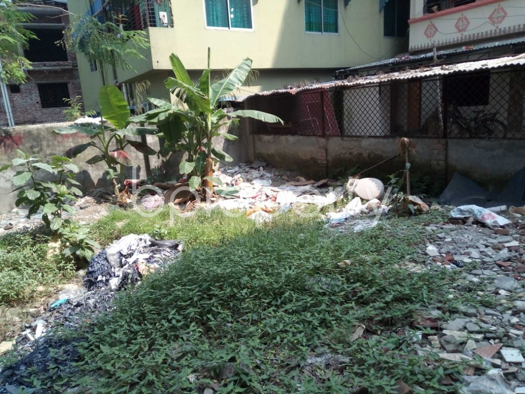 Outside view - Plot for Sale in Badda, Dhaka - 1933241