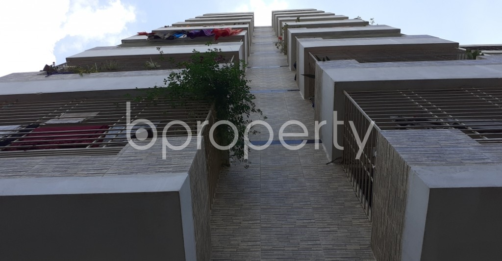 Outside view - 3 Bed Apartment for Sale in 30 No. East Madarbari Ward, Chattogram - 1933273