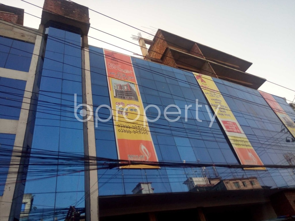 Outside view - Shop for Sale in Halishahar, Chattogram - 1933295