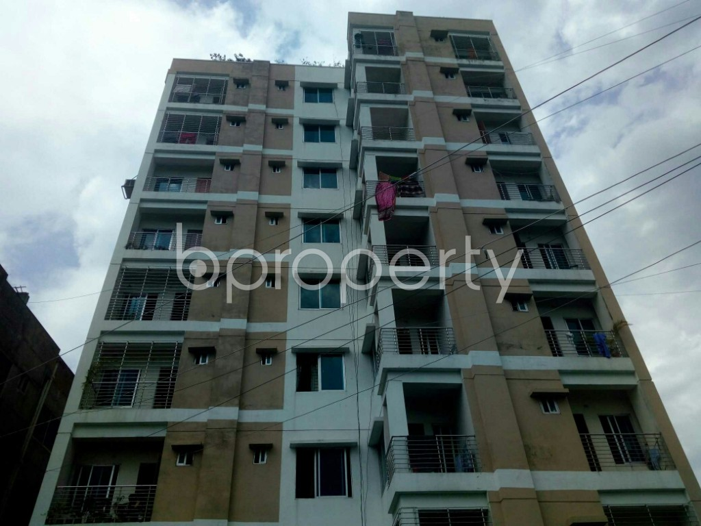 Front view - 3 Bed Apartment for Sale in Dakshin Khan, Dhaka - 1933830