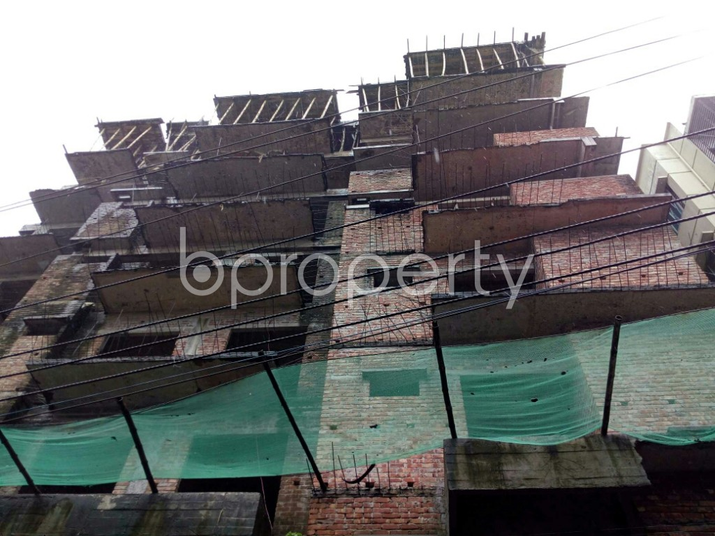 Front view - 3 Bed Apartment for Sale in Badda, Dhaka - 1933836