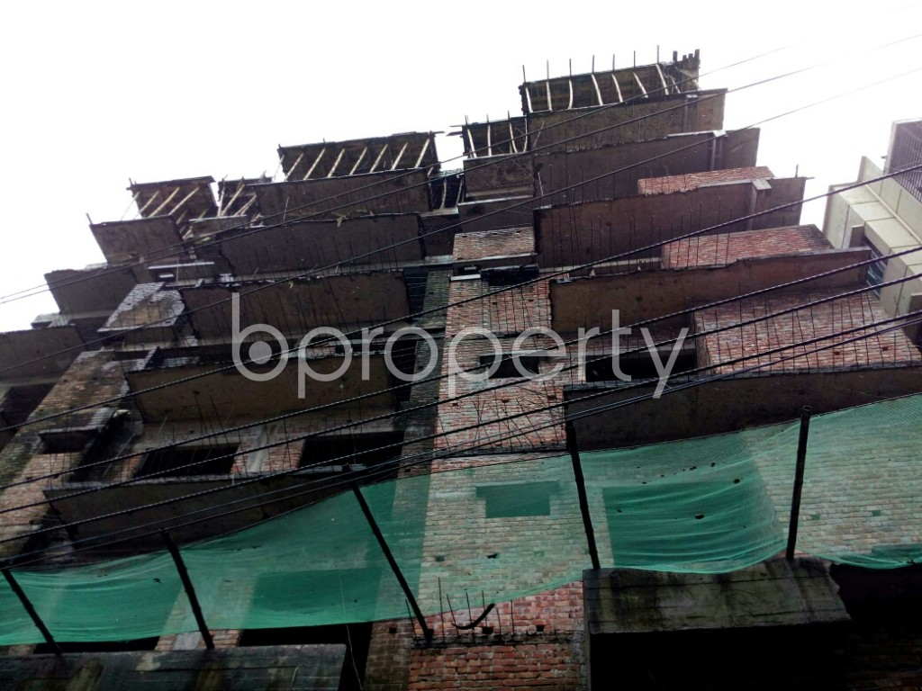 Front view - 3 Bed Apartment for Sale in Badda, Dhaka - 1933837