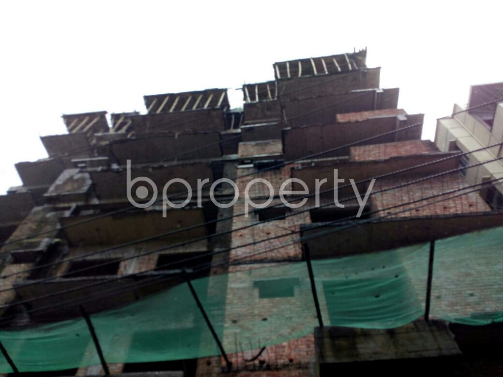 Front view - 3 Bed Apartment for Sale in Badda, Dhaka - 1933840