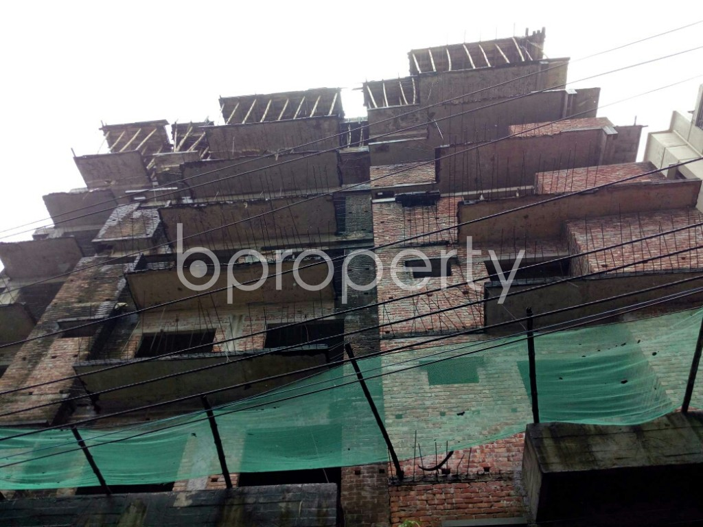 Front view - 3 Bed Apartment for Sale in Badda, Dhaka - 1933838