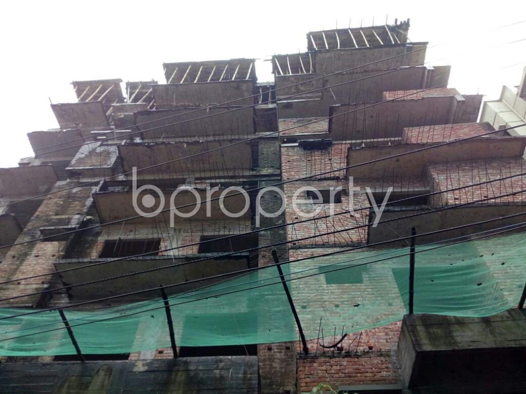 Front view - 3 Bed Apartment for Sale in Badda, Dhaka - 1933839