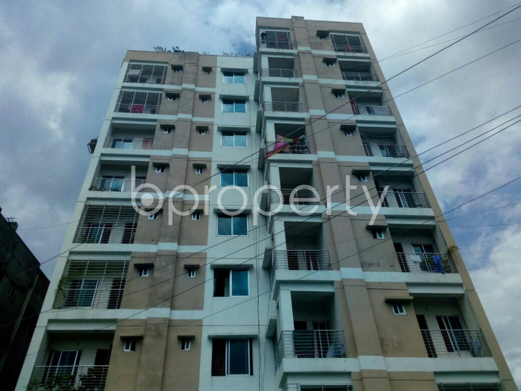Front view - 3 Bed Apartment for Sale in Dakshin Khan, Dhaka - 1933843