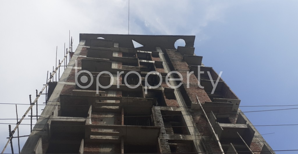 Front view - 3 Bed Apartment for Sale in Bashundhara R-A, Dhaka - 1934148