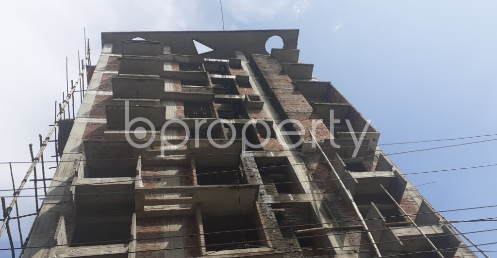 Front view - 3 Bed Apartment for Sale in Bashundhara R-A, Dhaka - 1934151