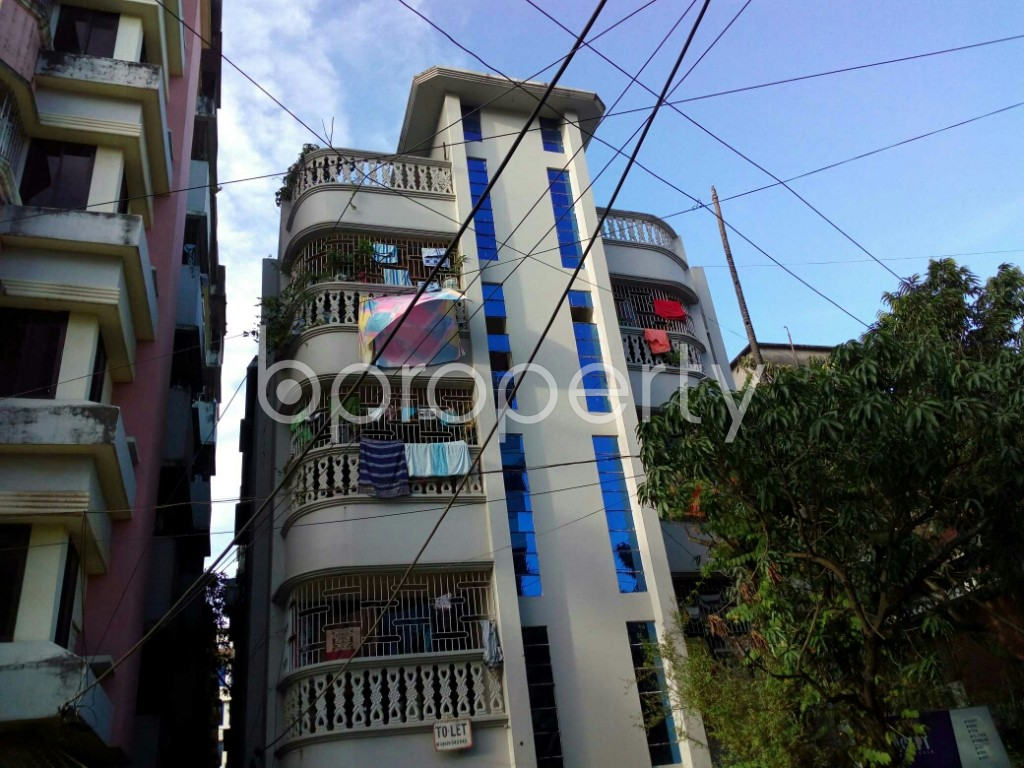 Front view - 4 Bed Apartment to Rent in Double Mooring, Chattogram - 1934463