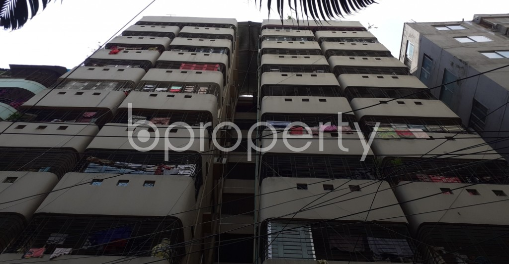 Front view - 3 Bed Apartment for Sale in Hatirpool, Dhaka - 1934906