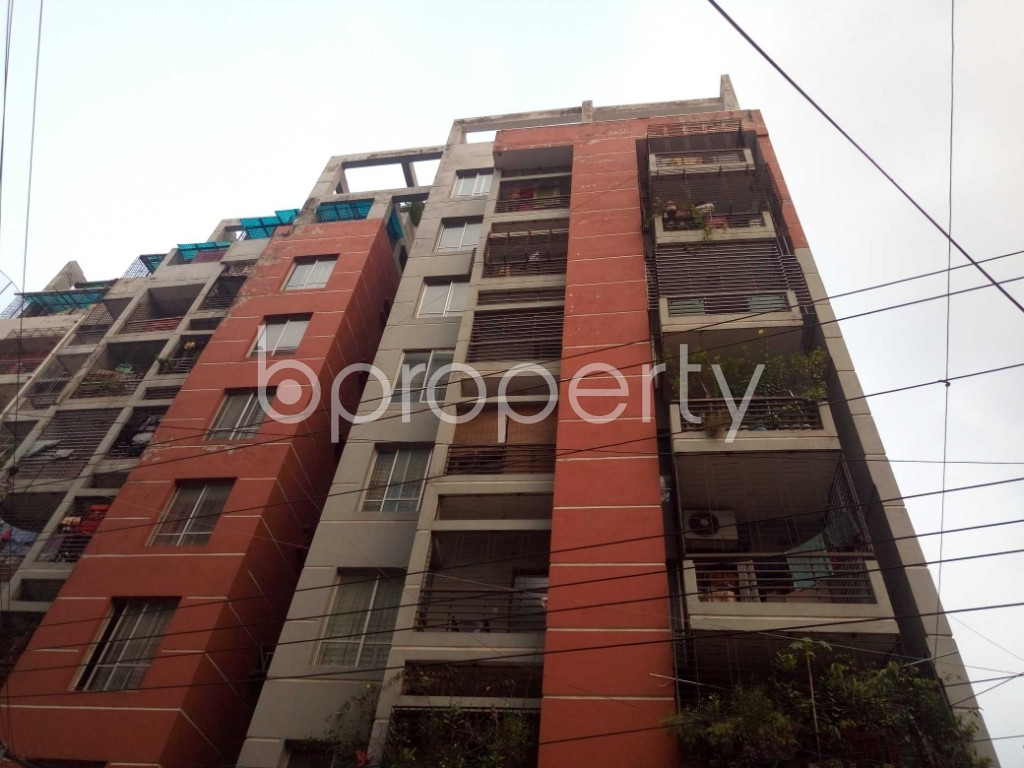 Outside view - 4 Bed Apartment for Sale in Maghbazar, Dhaka - 1934960