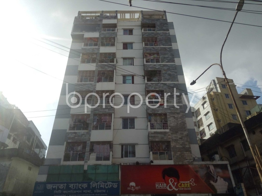 Front view - 3 Bed Apartment for Sale in Bakalia, Chattogram - 1934996