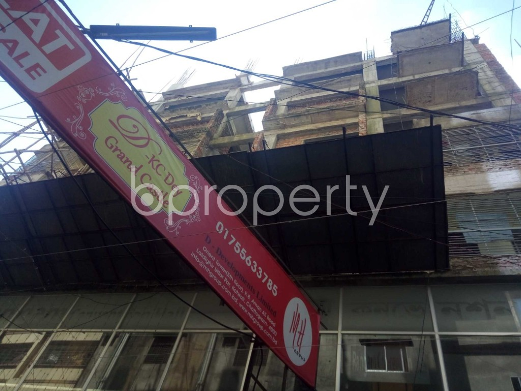 Front view - 3 Bed Apartment for Sale in Kotwali, Chattogram - 1935010