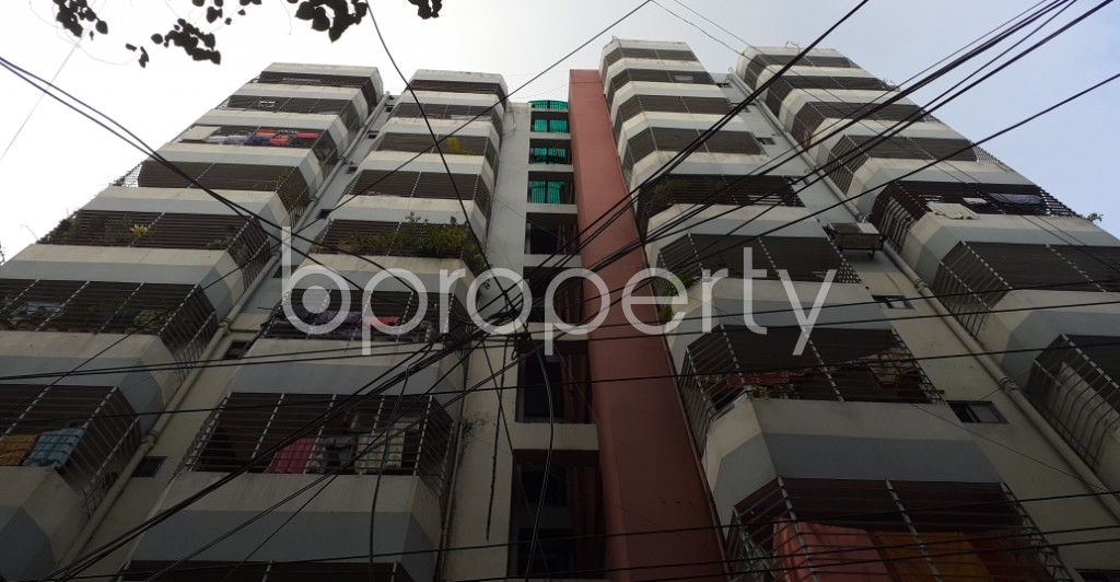 Front view - 4 Bed Apartment for Sale in Hatirpool, Dhaka - 1935152