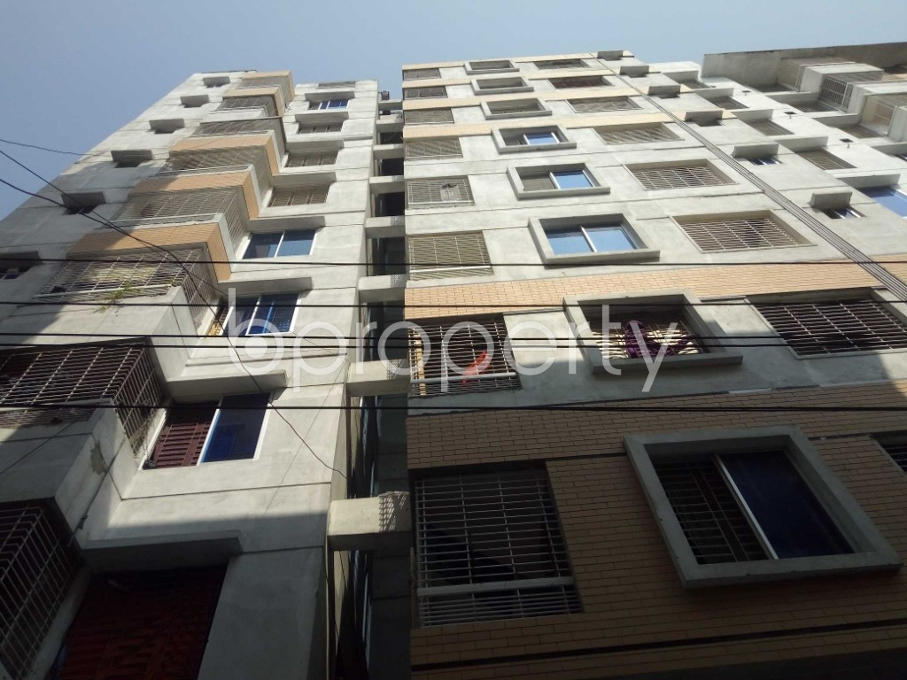 Front view - 3 Bed Apartment for Sale in Dhanmondi, Dhaka - 1935260