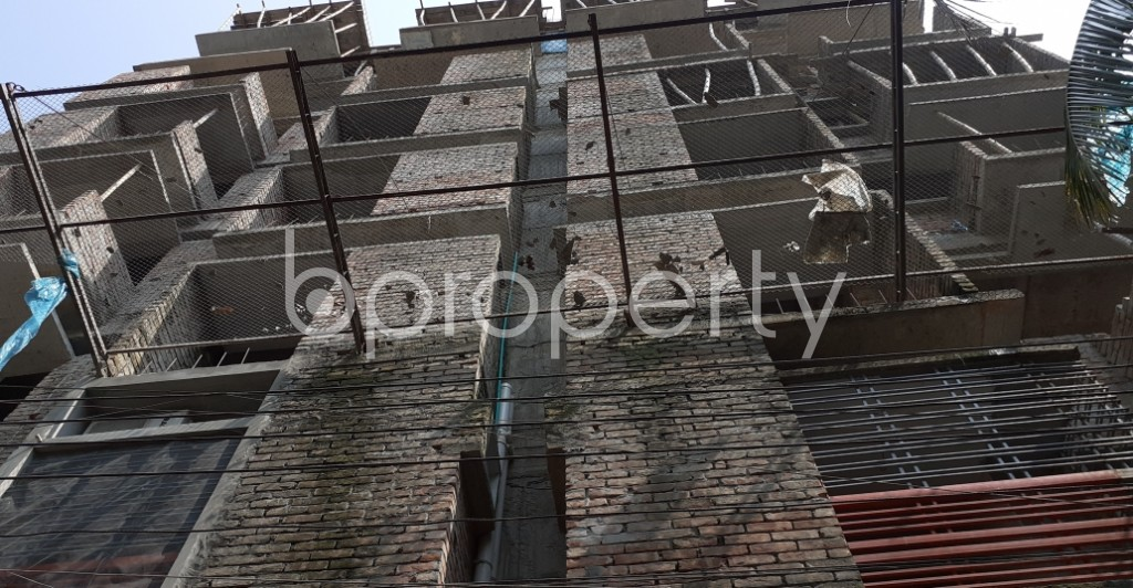 Front view - 3 Bed Apartment for Sale in Gazipur Sadar Upazila, Gazipur - 1935366