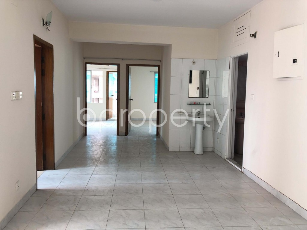 Dining area - 3 Bed Apartment for Sale in Hatirpool, Dhaka - 1888745