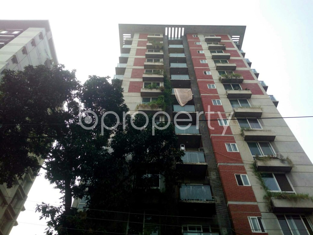Front view - 3 Bed Apartment for Sale in Banani, Dhaka - 1935392