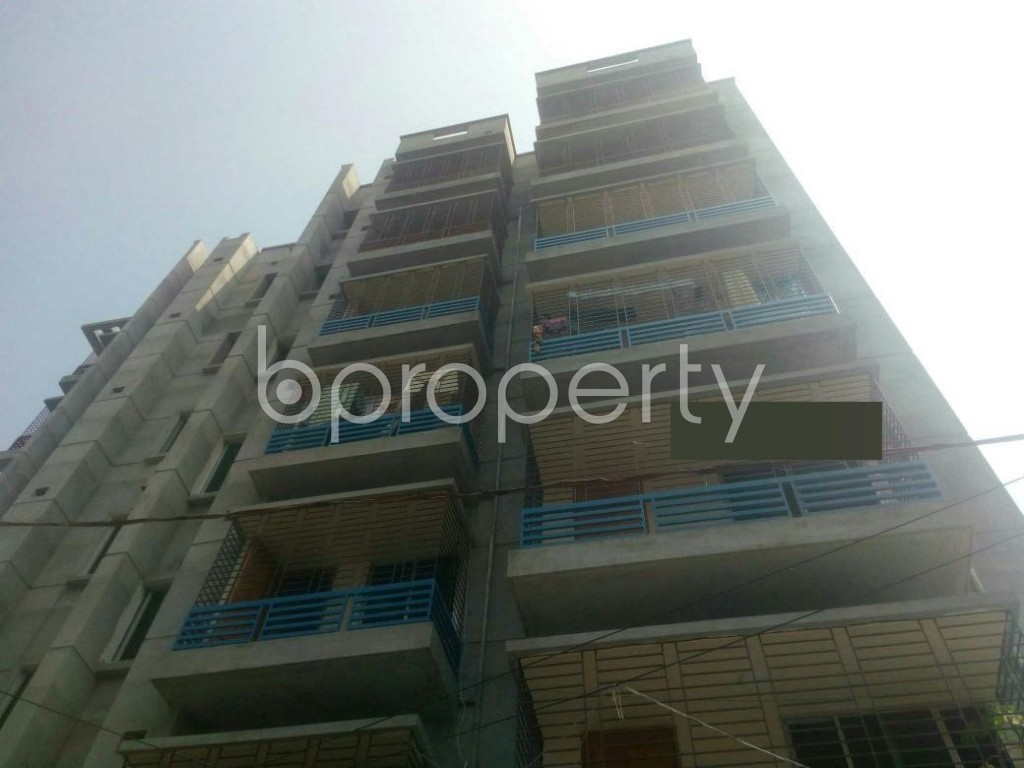 Front view - 3 Bed Apartment to Rent in Rampura, Dhaka - 1935588