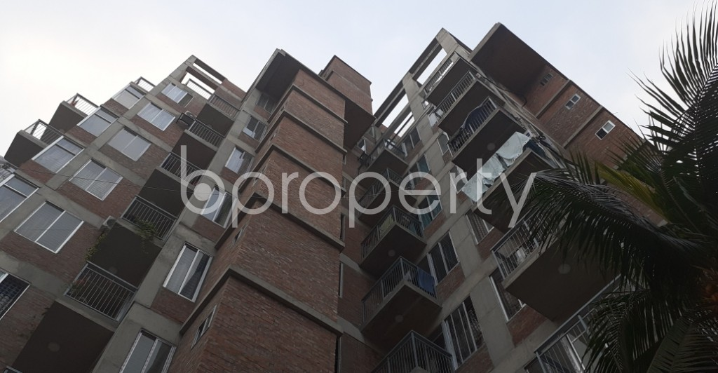 Front view - 3 Bed Apartment for Sale in Mirpur, Dhaka - 1935638