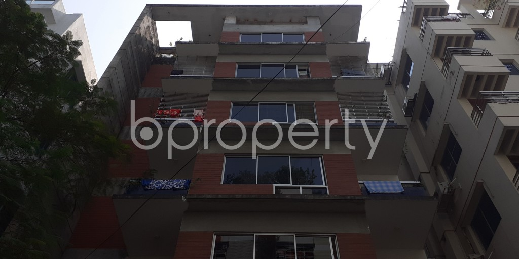 Front view - 3 Bed Apartment for Sale in Bashundhara R-A, Dhaka - 1935711