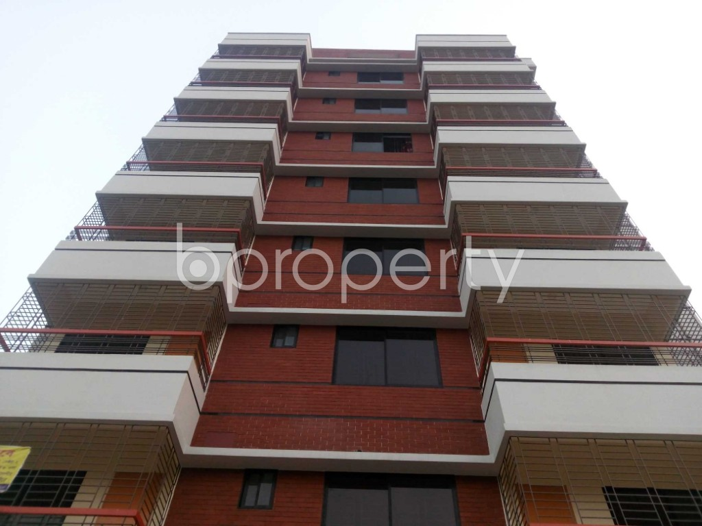 Front view - Office to Rent in Aftab Nagar, Dhaka - 1935724