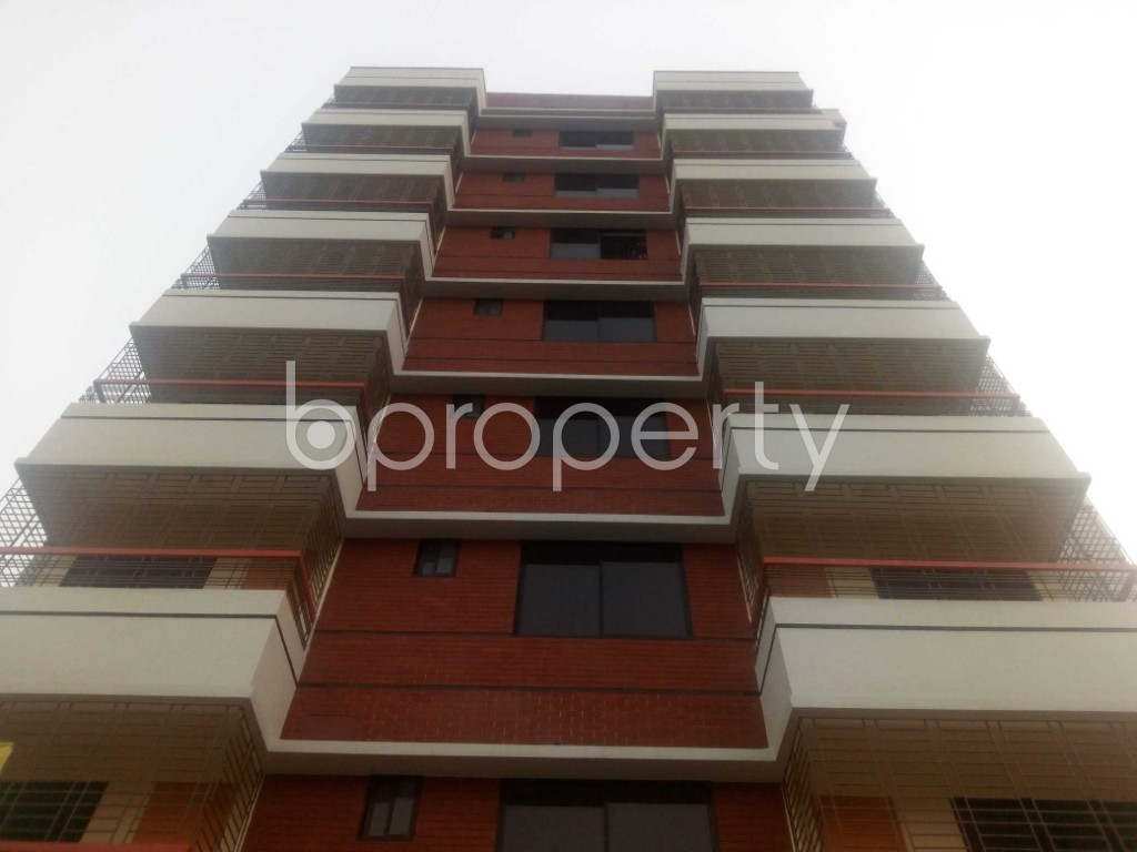Front view - Office to Rent in Aftab Nagar, Dhaka - 1935728