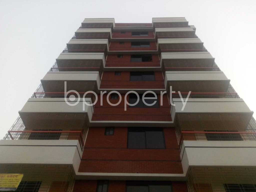 Front view - Office to Rent in Aftab Nagar, Dhaka - 1935734