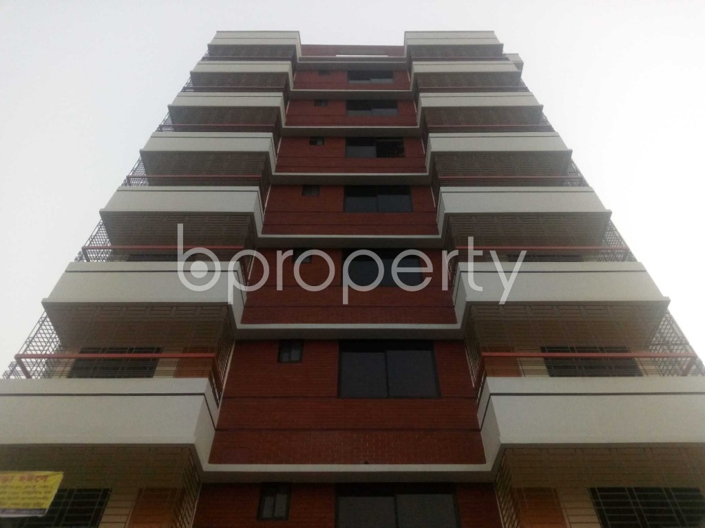 Front view - Office to Rent in Aftab Nagar, Dhaka - 1935738