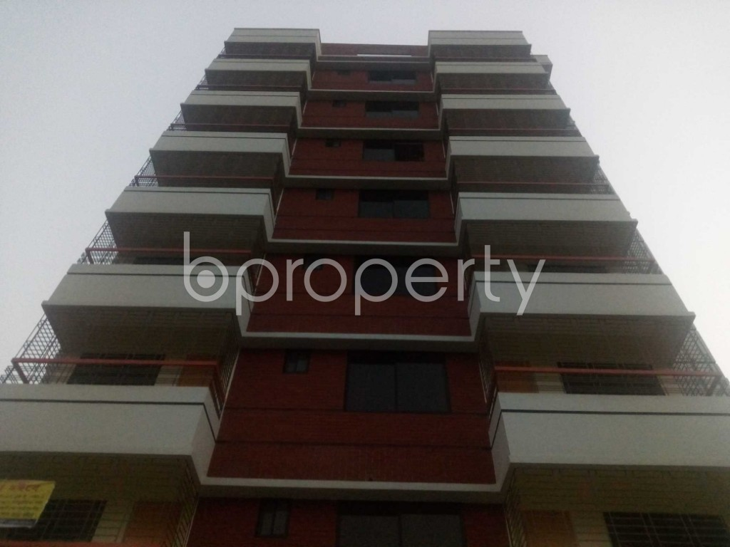 Front view - Office to Rent in Aftab Nagar, Dhaka - 1935741