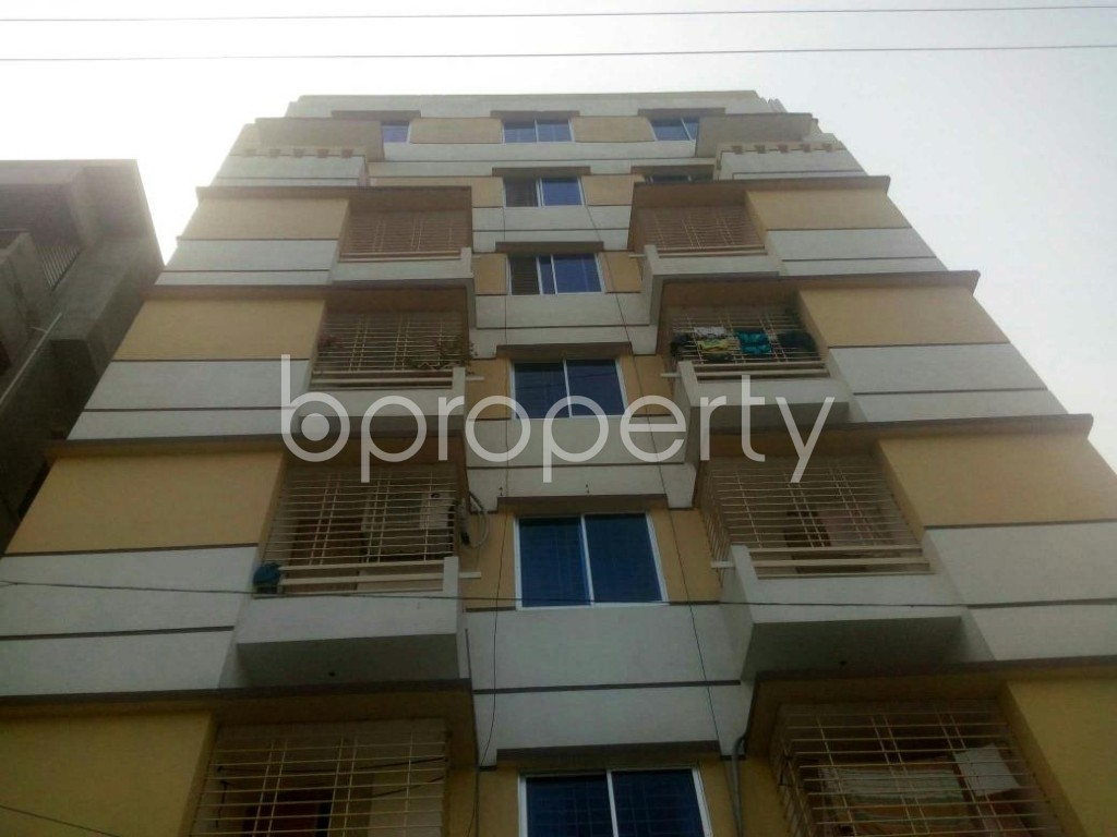 Front view - 3 Bed Apartment to Rent in Rampura, Dhaka - 1935808