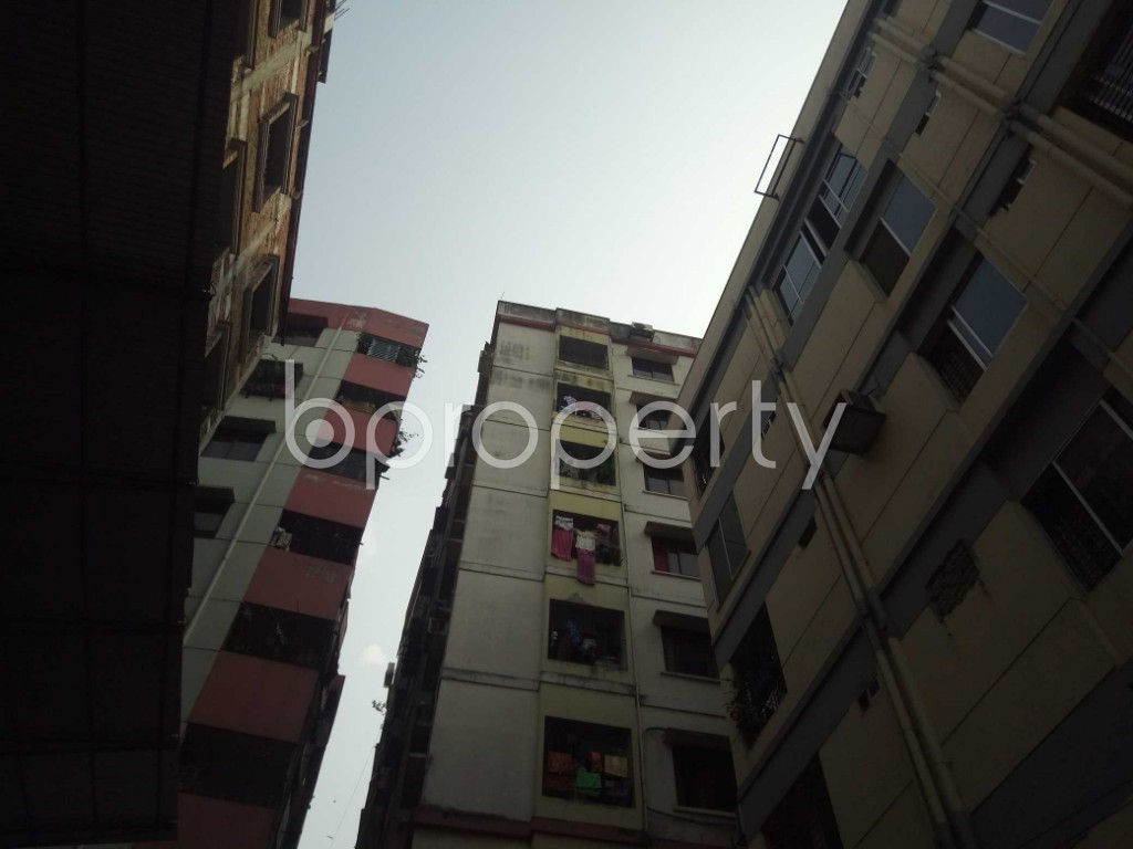 Outside view - 2 Bed Apartment for Sale in Maghbazar, Dhaka - 1936219