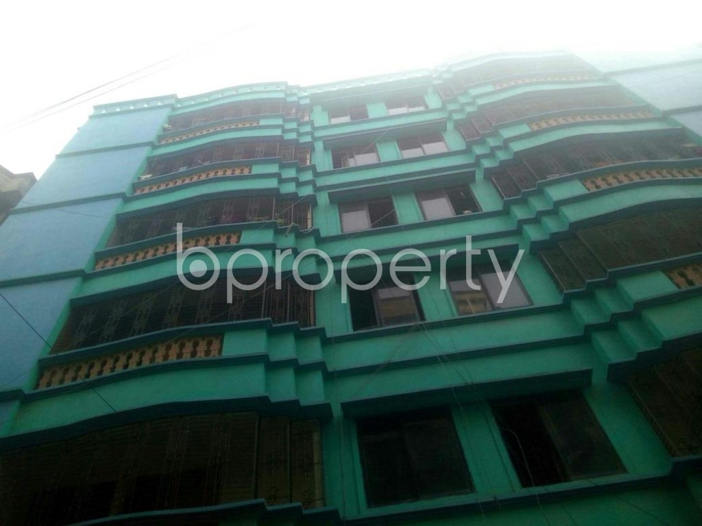 Front view - 3 Bed Apartment to Rent in Rampura, Dhaka - 1936258
