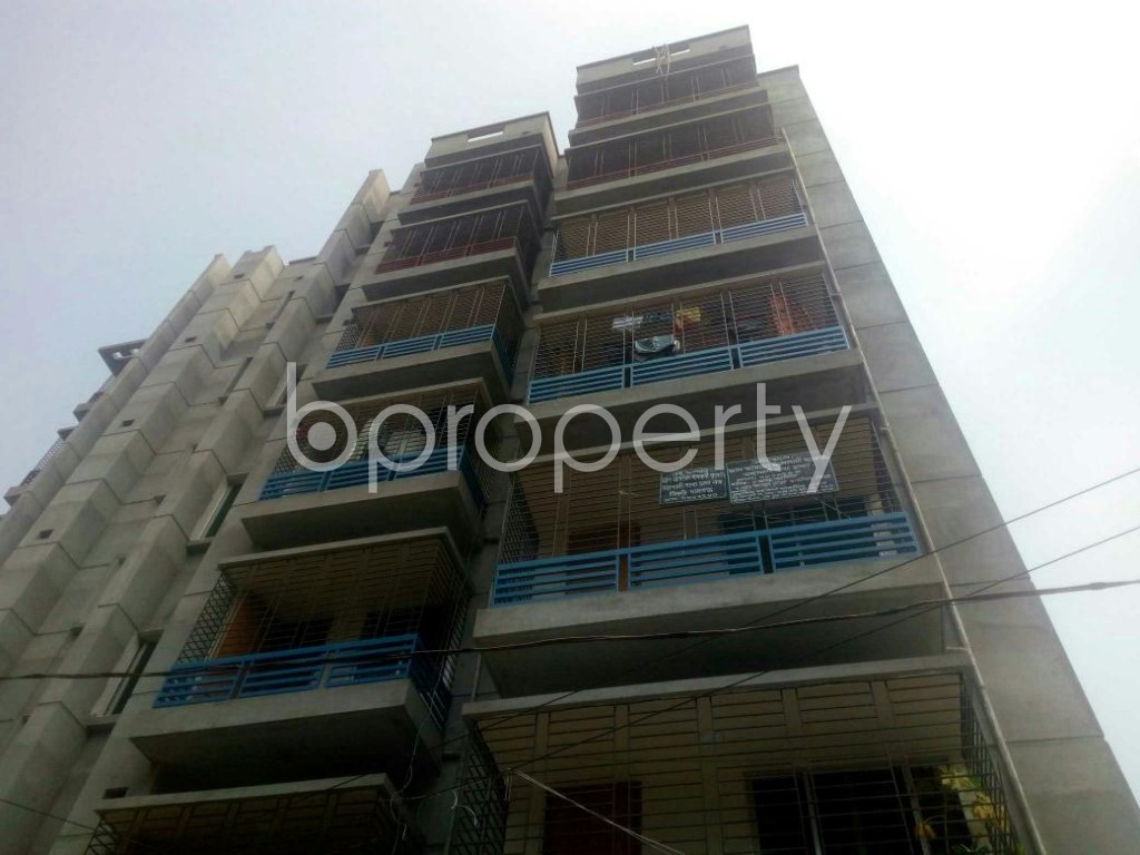 Front view - 3 Bed Apartment to Rent in Rampura, Dhaka - 1936263