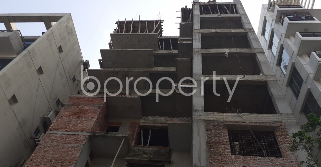 Front view - 4 Bed Apartment for Sale in Niketan, Dhaka - 1936264