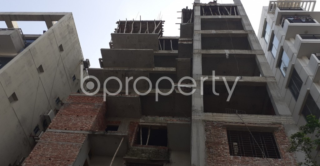 Front view - 4 Bed Apartment for Sale in Niketan, Dhaka - 1936265
