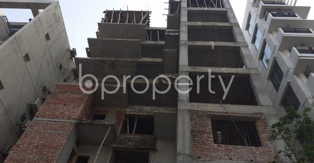 Front view - 4 Bed Apartment for Sale in Niketan, Dhaka - 1936266