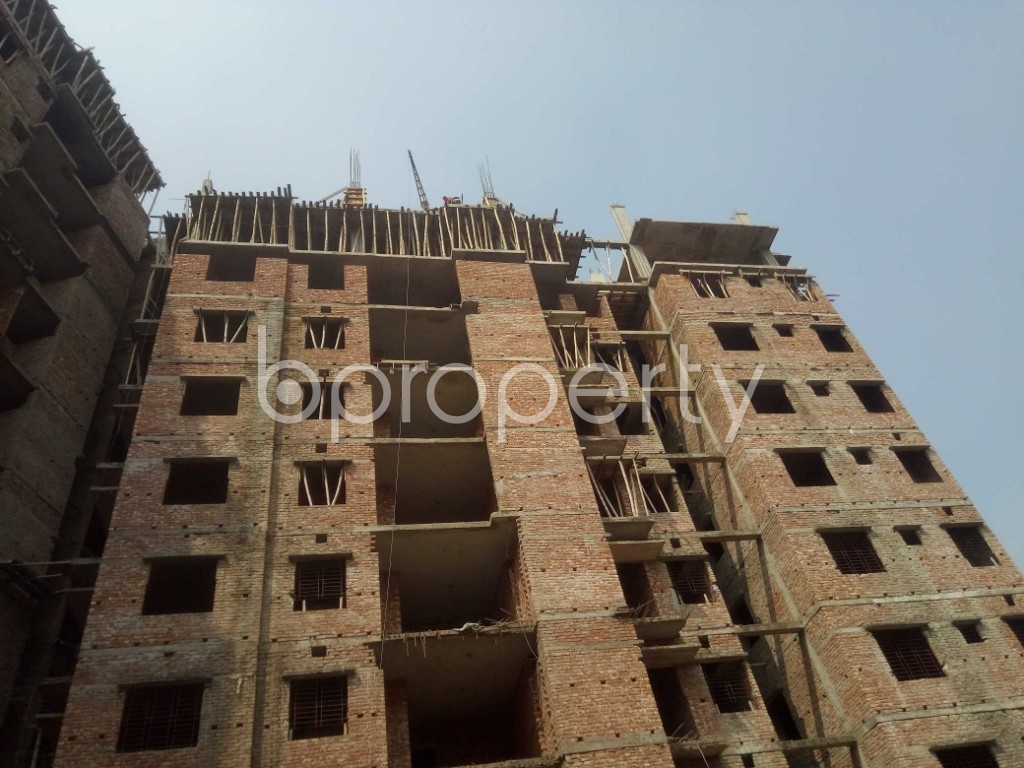 Outside view - 3 Bed Apartment for Sale in Badda, Dhaka - 1936289