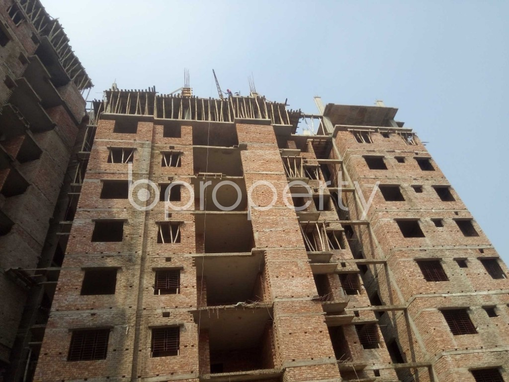Outside view - 3 Bed Apartment for Sale in Badda, Dhaka - 1936291
