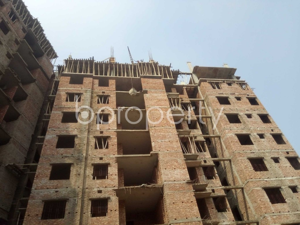 Outside view - 3 Bed Apartment for Sale in Badda, Dhaka - 1936292