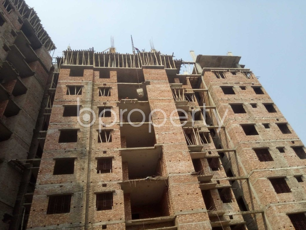 Outside view - 3 Bed Apartment for Sale in Badda, Dhaka - 1936293